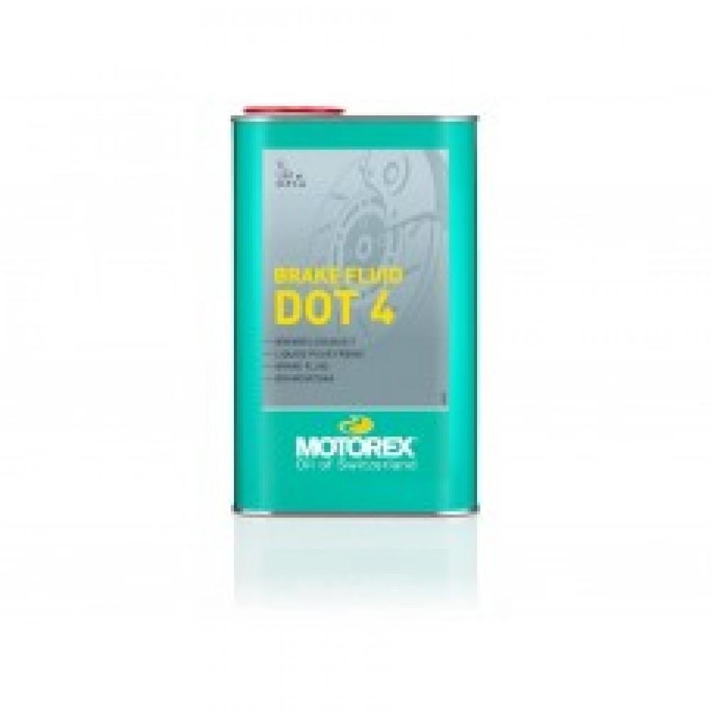 Жидкость тормозов и сцепления Motorex DOT 4